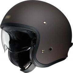 Shoei J.O. Open Face Helmet   Matt Brown